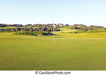 Golf field in the Algarve Portugal