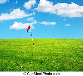 golf field