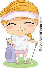 Golf Girl