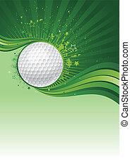 golf, háttér