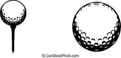 golf icon isolated on white background