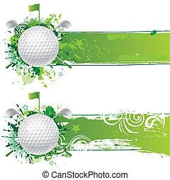 golf - vector golf design element