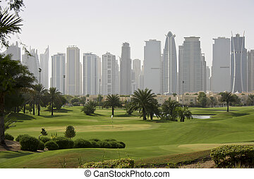 Golf in the middle east Dubai