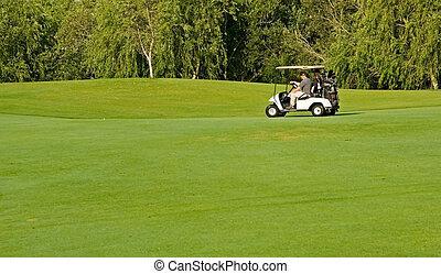 golf, jouer