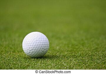 golf- kugel, grün
