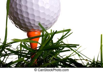 golf labda elkezdődik