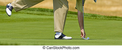 Golf - moment