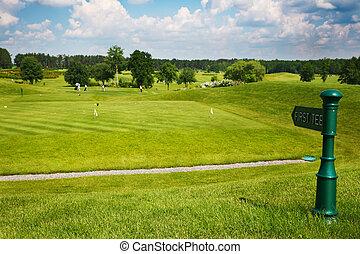 Golf Next tee pointer