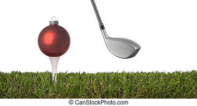 golf, ornamento