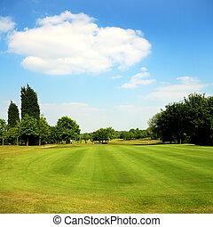 Golf park, Yorkshire, uk