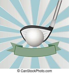 golf, plano de fondo