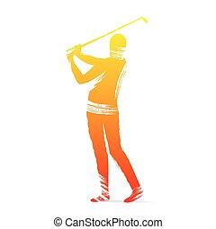 golf player design