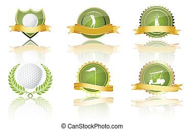 golf, prijzen