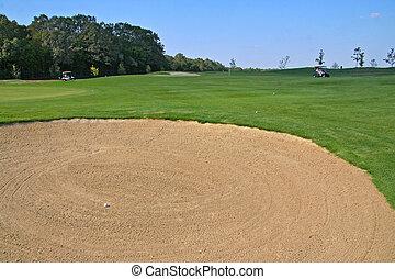 golf sand pit