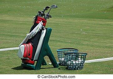 Golf School - Photographed at a local golf school Florida.
