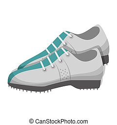 golf shoes equipment - golf shoes player accessory sport...