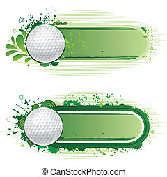 golf sport - design elements-golf