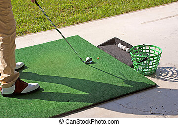golf szokás
