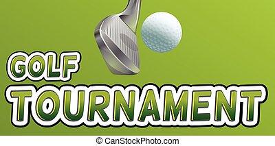 golf, toernooi