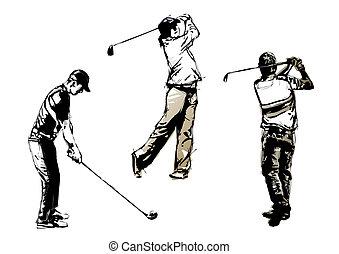 golf trio 2