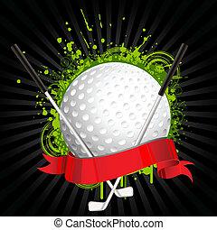 golf, uitrusting