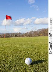 golf zöld