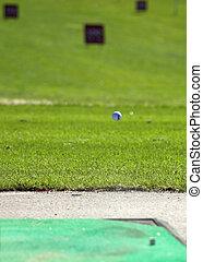 Golfball in Flight 2
