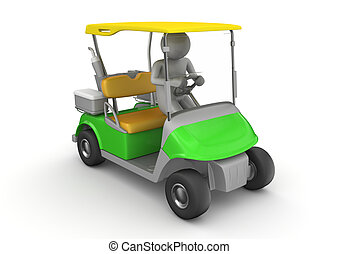 Golfcar driver - Sports collection