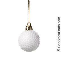 golfe-bola, ornamento