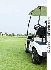 golfe, cart.