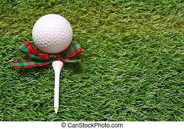 golfe, com, tee
