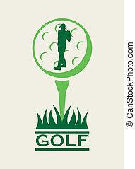 golfe, desenho