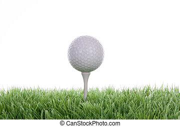 golfe, em, um, estúdio