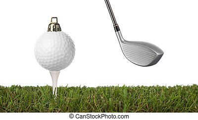 golfe, ornamento