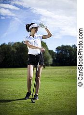 golfe, tempo