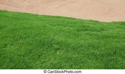 golfeur, golf, sport, homme, jouer