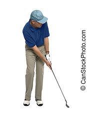 golfjátékos, feltétel
