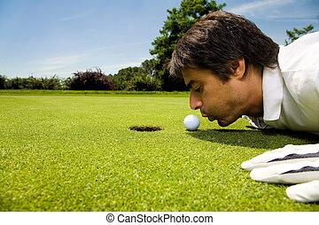 golfowy klub