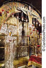 Golgotha, Life-giving Cross