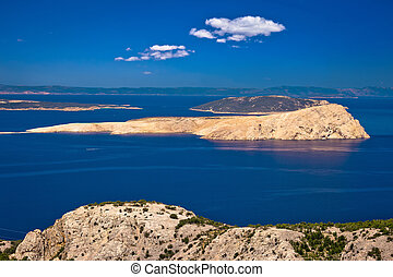 Goli Otok island in Velebit channel of Croatia, former communist Yugoslavia prison (Naked Island)