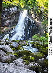 Gollinger Waterfall in Austria