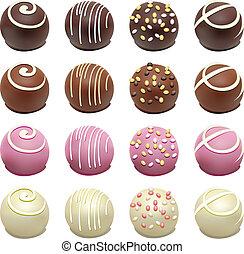 golosinas, chocolate