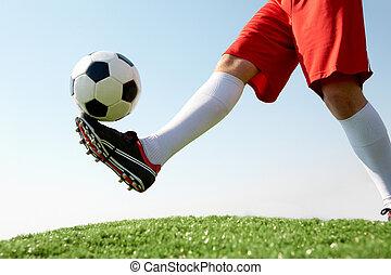 golpear la bola