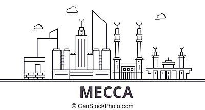 golpes, cityscape, vistas, paisaje, vector, señales, ...