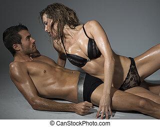 passionerad lagd sex