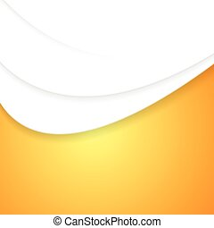 golvend, abstract, vector, achtergrond