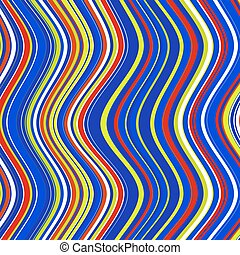 golvend, achtergrond, kleurrijke, lines.