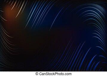 golvend, lijnen, abstrac, achtergrond