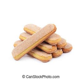 gombo, biscotto, composizione, savoiardi
