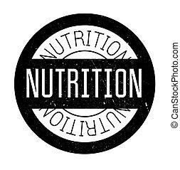 gomma, nutrizione, francobollo